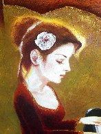 Love of Music 2012 35x41 Super Huge  Original Painting by Charles Lee - 5