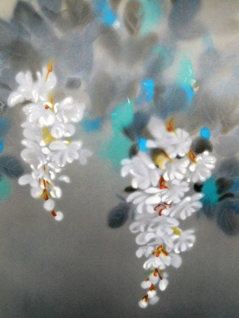 Flowers 1985 Limited Edition Print by David Lee