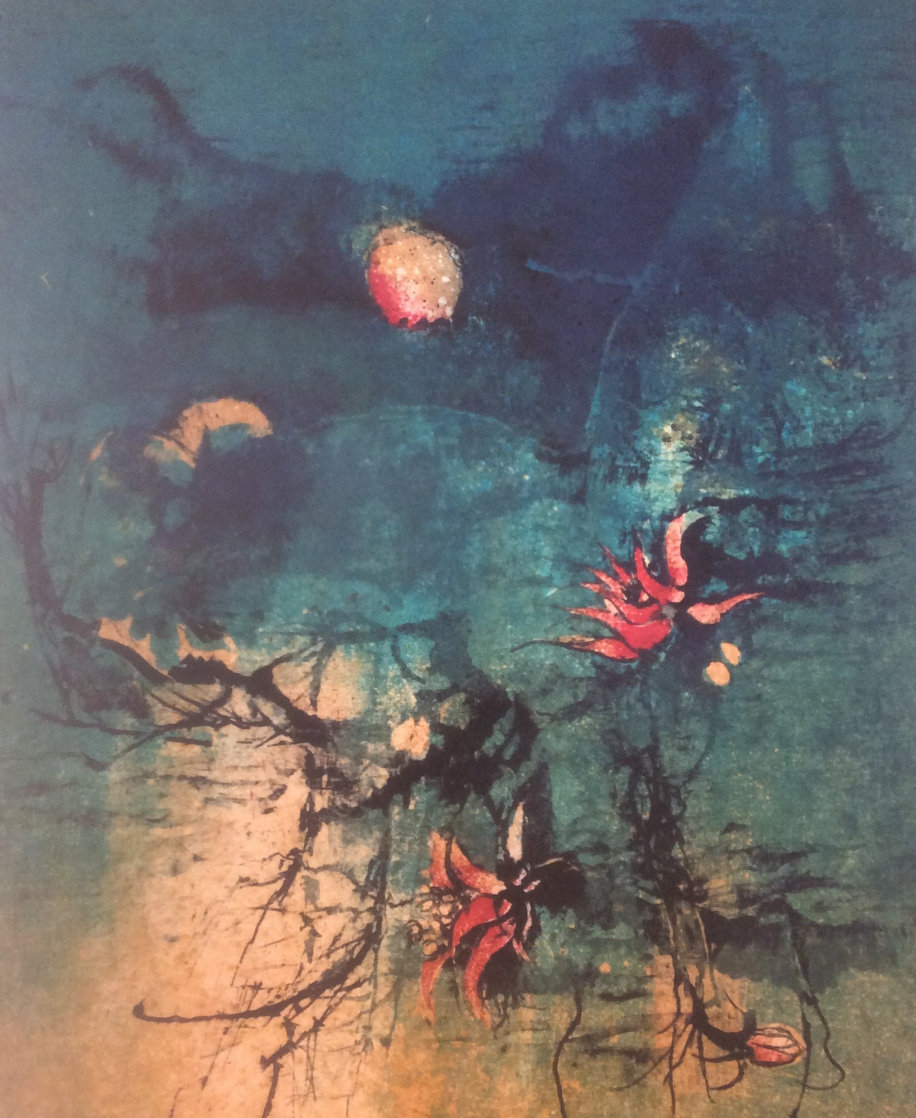 Untitled Lithograph Limited Edition Print by David Lee