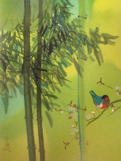 Green Bamboo AP Limited Edition Print - David Lee