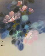 Floral Pedals  Watercolor 1986 20x26 Watercolor by David Lee - 0