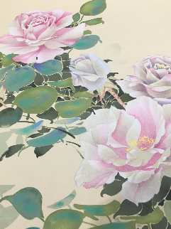 Pink Roses Limited Edition Print - David Lee