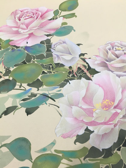 Pink Roses Limited Edition Print by David Lee