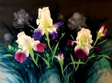 From Vashon Gardens 34x56 Original Painting - David Lee