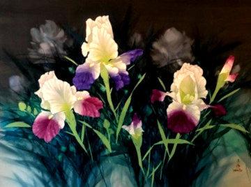 From Vashon Gardens 34x56 Original Painting by David Lee