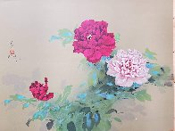 Red and Pink Flowers Limited Edition Print by David Lee - 1