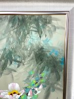 Morning of the Bay 1995 36x24 Original Painting by David Lee - 8