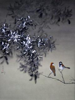 Winter 1979 40x30 Original Painting - David Lee