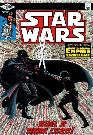 Star Wars - #44 the Empire Strikes Back - Duel a Dark Lord - 2015  HS by Stan Limited Edition Print by Stan Lee