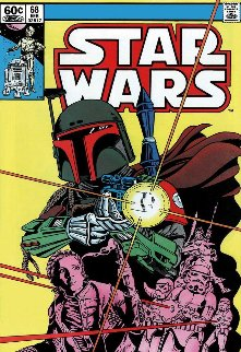 Star Wars - #68 The Search Begins    2015  Limited Edition Print by Stan Lee