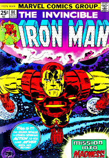 Invincible Iron Man #80 - Mission Into Madness Limited Edition Print - Stan Lee