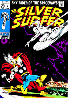 Silver Surfer #4 2013 HS Limited Edition Print - Stan Lee