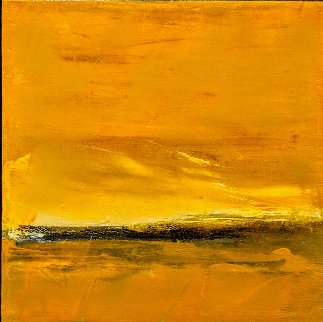 Landscape #35 16x16 Original Painting - Luc Leestemaker