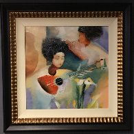 Untitled Painting 1997 36x36 Original Painting by Lee White - 1