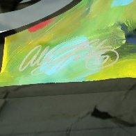 Dollar Sign 32x28 Original Painting by Allison Lefcort - 3