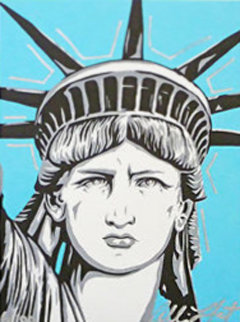 Statue of Liberty 2000 Limited Edition Print by Allison Lefcort