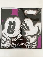 Mickey and  Minnie 19x19 Original Painting by Allison Lefcort - 3