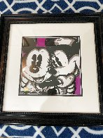 Mickey and  Minnie 19x19 Original Painting by Allison Lefcort - 1
