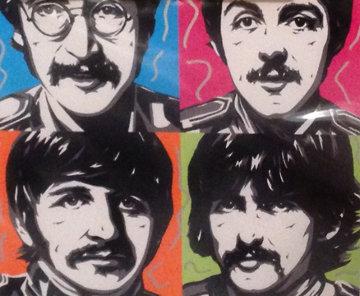 Sergeant Peppers - The Beatles 2007 Embellished Limited Edition Print - Allison Lefcort