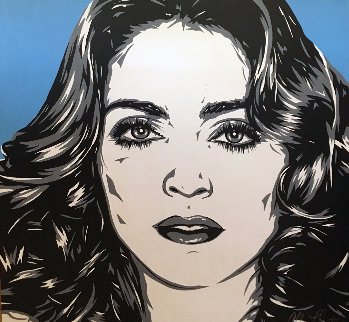 Madonna 50x50 Original Painting - Allison Lefcort