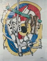 Untitled Lithograph Limited Edition Print by Fernand Leger - 1