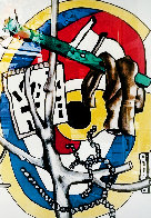 Untitled Lithograph Limited Edition Print by Fernand Leger - 0