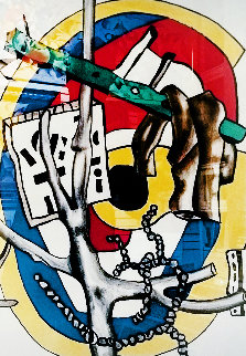 Untitled Lithograph Limited Edition Print - Fernand Leger