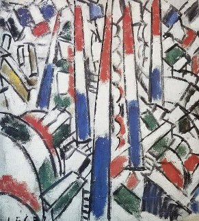 Le 14 Juillet Poster HS Limited Edition Print by Fernand Leger