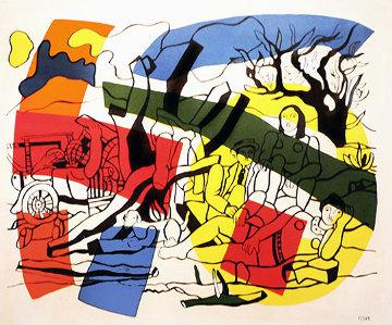 La Partie De Campagne 1960 Limited Edition Print - Fernand Leger