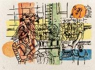 La Marchande D'oiseaux 1959 Limited Edition Print by Fernand Leger - 1