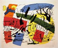 La Partie De Campagne 1960 Limited Edition Print by Fernand Leger - 0