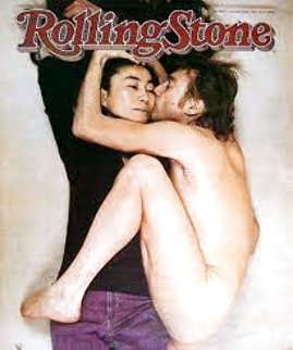Rolling Stones Magazine Cover, Two Virgins 1981 Photography - Annie Leibovitz