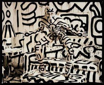 Keith Haring Cibachrome Print 1986 Limited Edition Print - Annie Leibovitz
