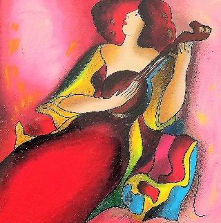 Odile 2003 Limited Edition Print - Linda LeKinff