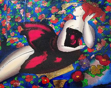 Fleurs, Fleurs, Fleurs 2003 Limited Edition Print - Linda LeKinff