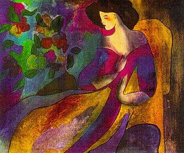 Annabella 2007 Limited Edition Print by Linda LeKinff