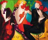 Trio II AP 2005 Embellished Limited Edition Print by Linda LeKinff - 0