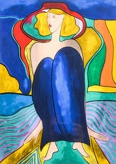 Rue Du Cripseule 1997 Limited Edition Print by Linda LeKinff