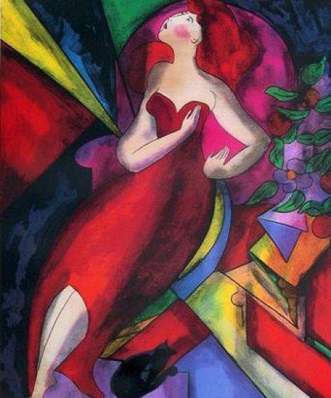 Romane 2009 Limited Edition Print by Linda LeKinff