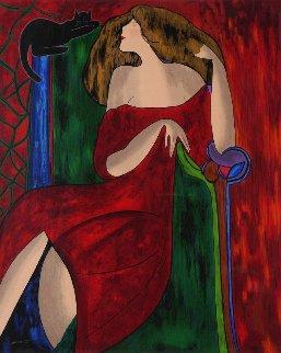 Anastasia Ap  1999 Limited Edition Print - Linda LeKinff