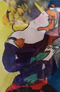 Milton 2011 8x6 Works on Paper (not prints) - Linda LeKinff