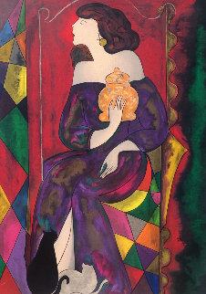 La Vase Gien 1999 Limited Edition Print by Linda LeKinff