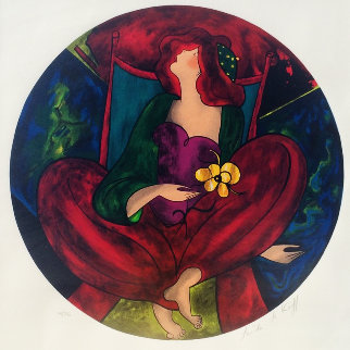 Cendrillan 1998 Limited Edition Print by Linda LeKinff