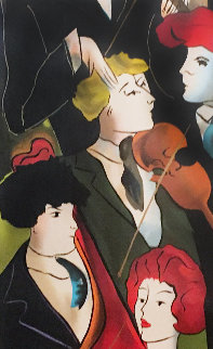 Patrick Au Violon 2000 Limited Edition Print by Linda LeKinff