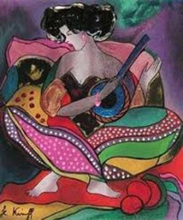 Sacha 2000 Limited Edition Print by Linda LeKinff