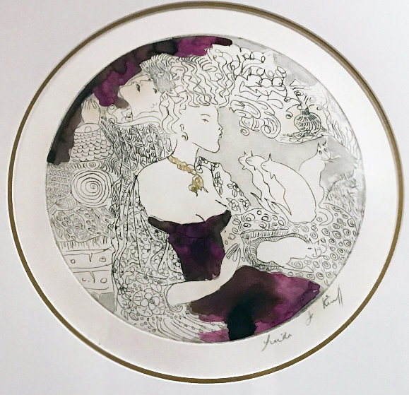 Moments Prefers, Suite of 3 2011 Limited Edition Print by Linda LeKinff