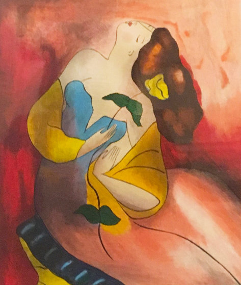 Untitled (Portrait of a Woman) Limited Edition Print by Linda LeKinff