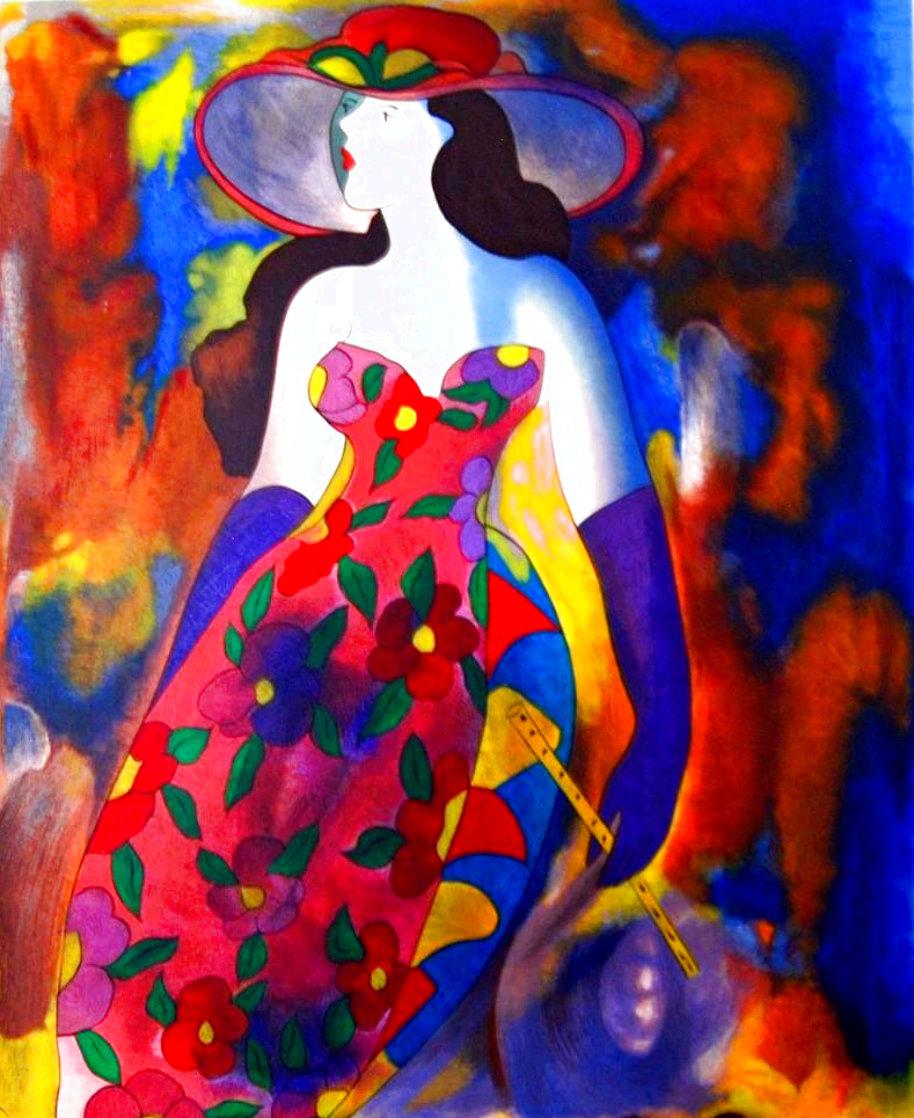 Lady B 2005 Limited Edition Print by Linda LeKinff