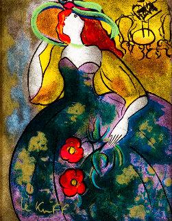 Laura Au Bal 1998 Limited Edition Print - Linda LeKinff