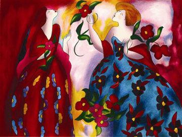 Parc Monceau 2005 Limited Edition Print - Linda LeKinff